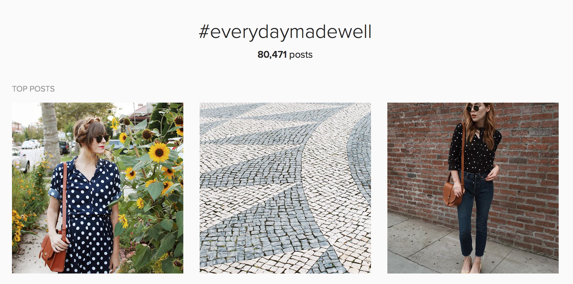 more than 80000 posts in one hashtag