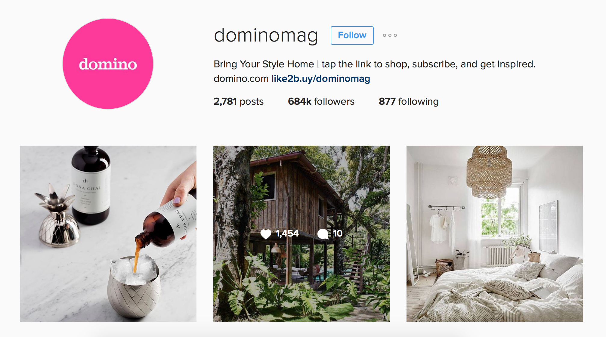 use of Instagram feed as a online storefront