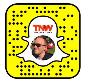 Branded snapcode - the next web example