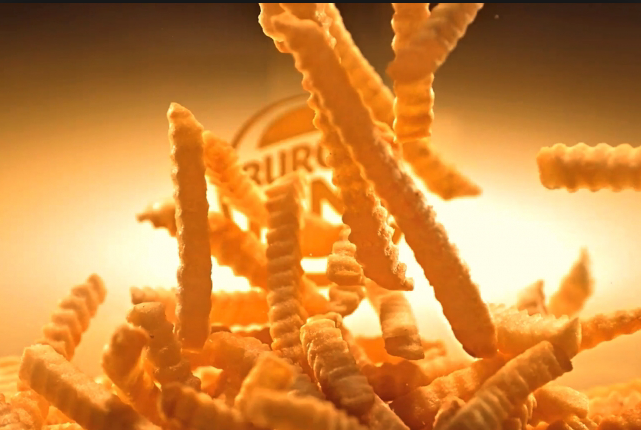 Amazing french fries from Burguer King