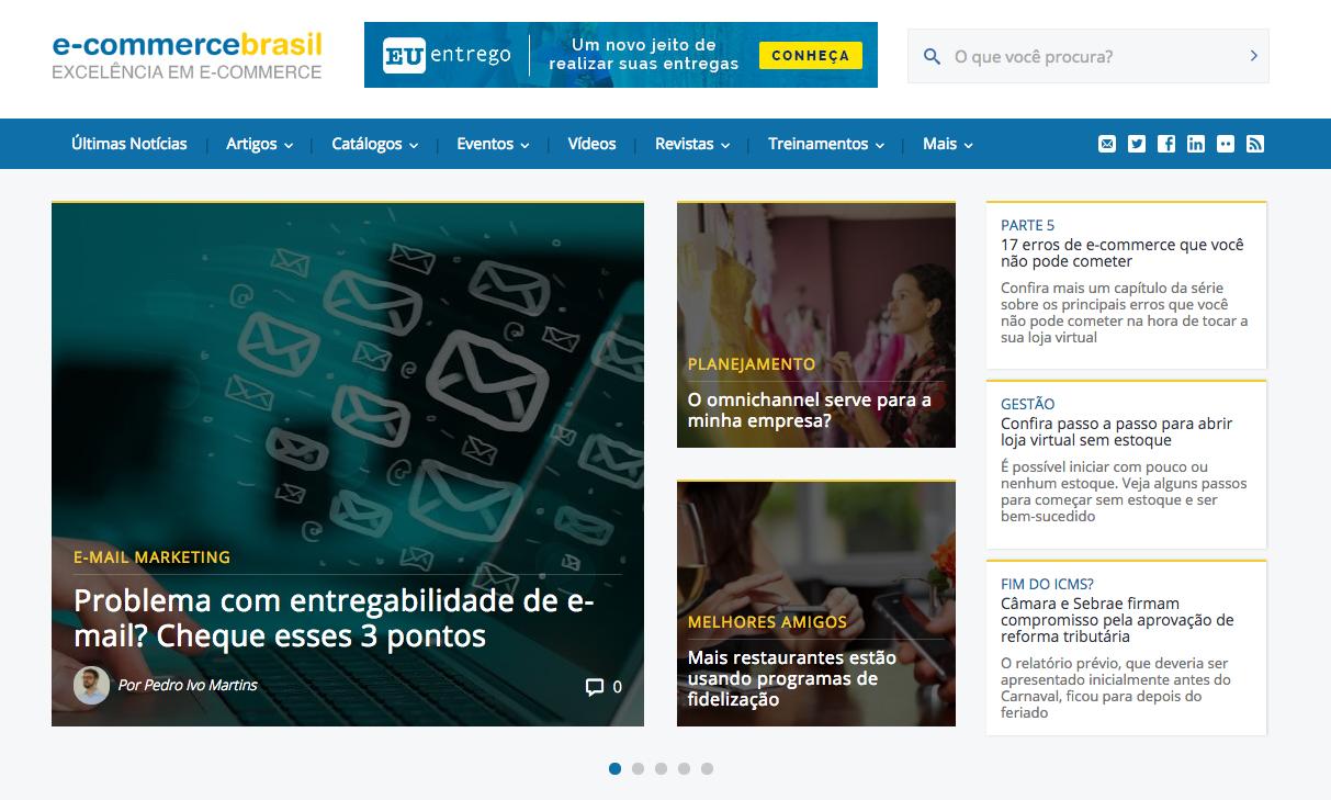 Ecommerce Brasil blog - portuguese blog