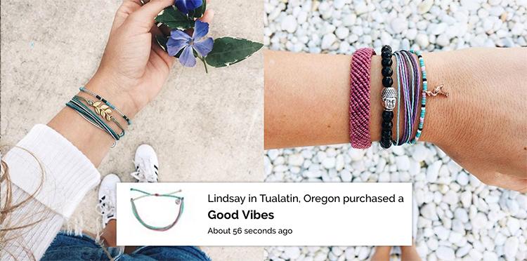 fomo on pura vida bracelets store