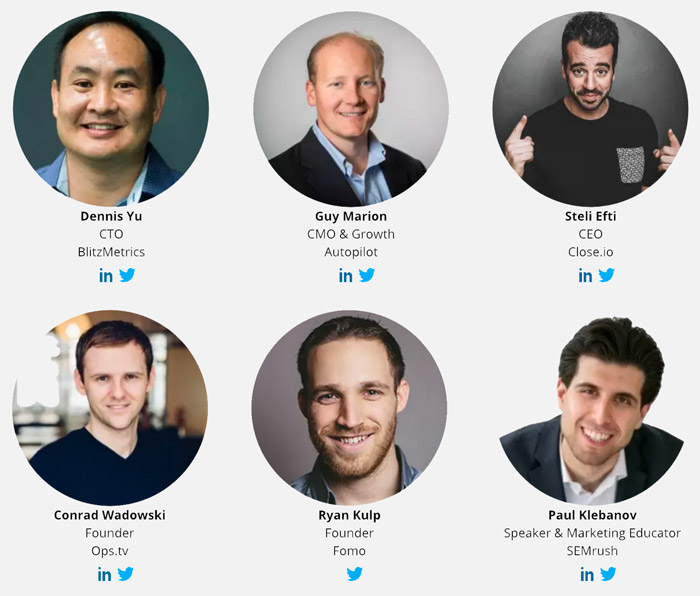 2017 growth marketing conference speakers