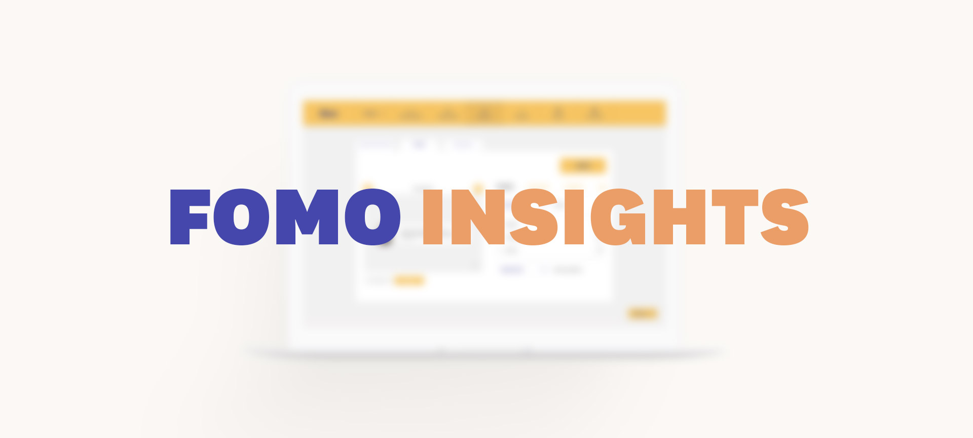 Introducing Fomo Insights