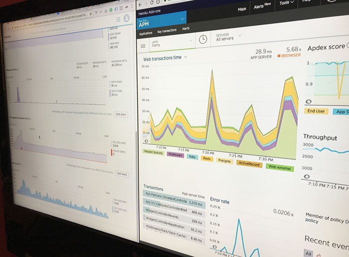 fomo new relic logs