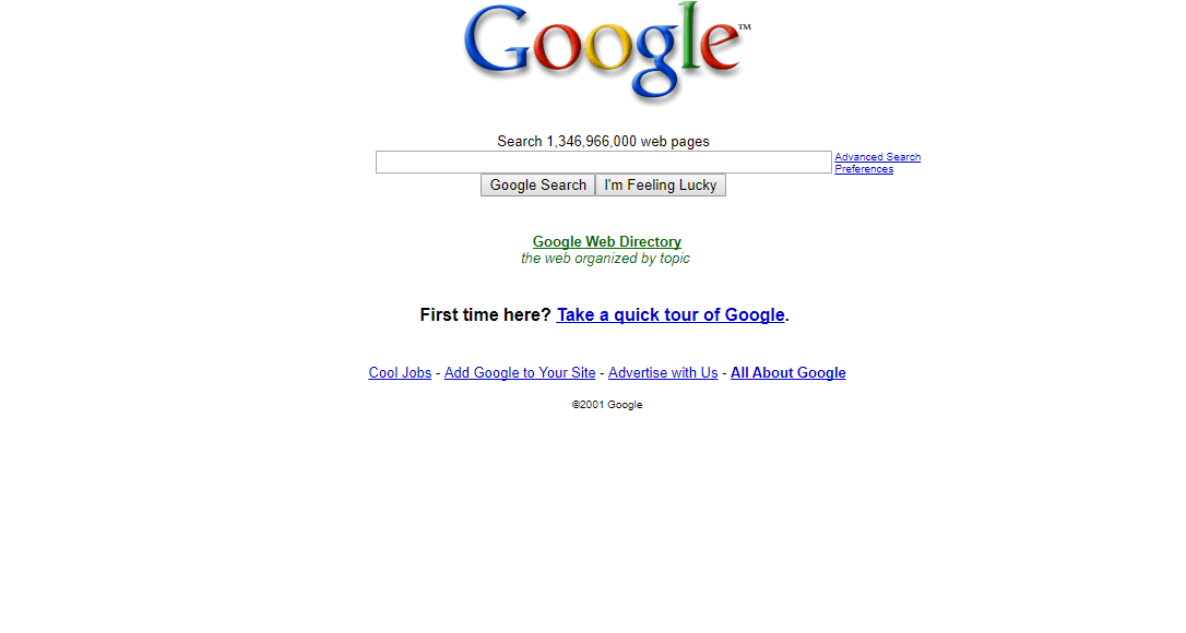 We Use Google Every Day. But Do You Remember How Much Google Has ...