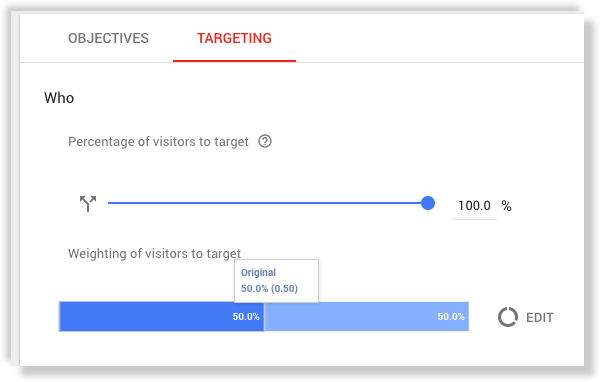Google Optimize targeting basics