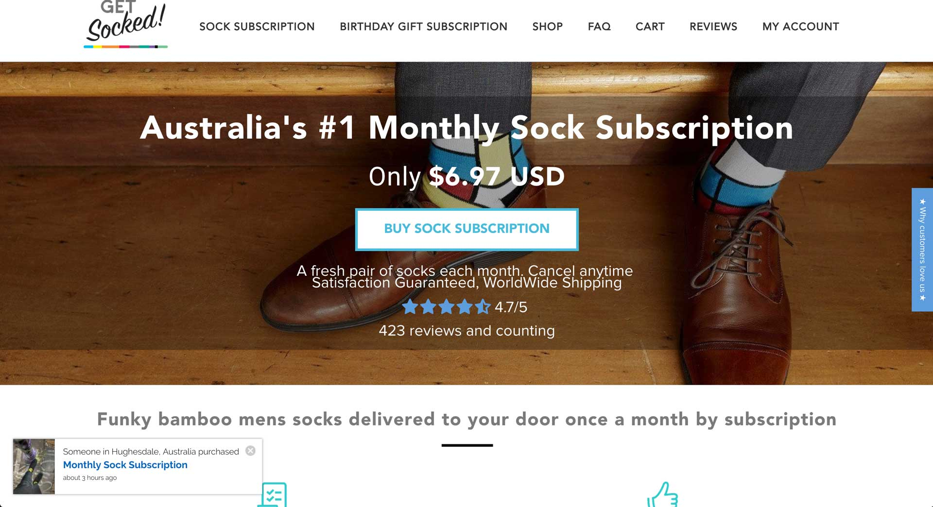 How A Sock Subscription Service Boosted Conversions During The Fomo Trial