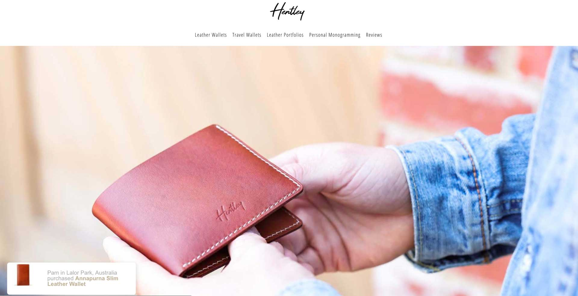 How A Leather Wallet Company Is Increasing Click Through Rates With Fomo
