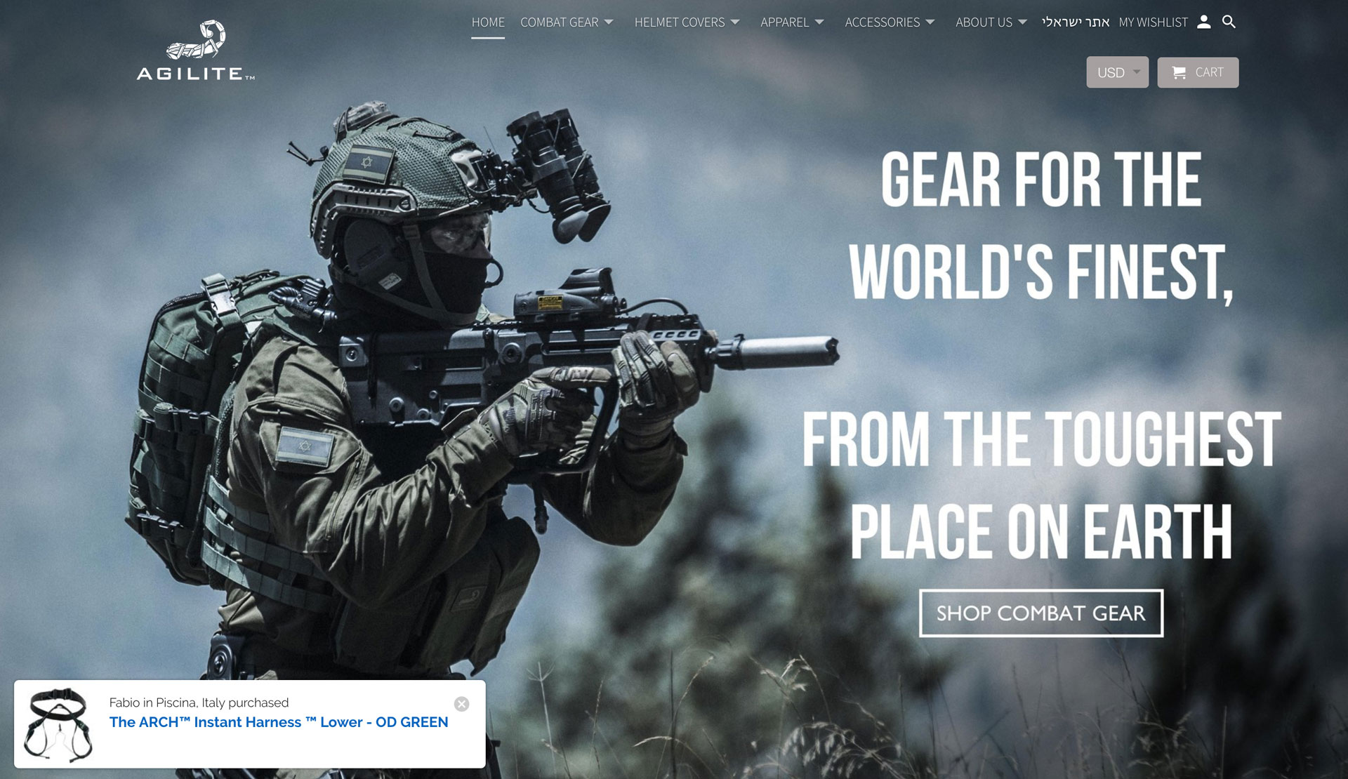 Learn About A Military Gear Provider's Experience With Fomo