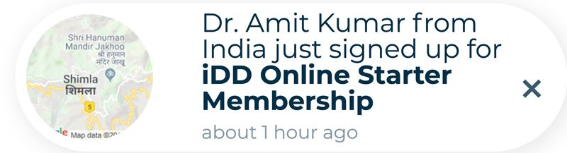 fomo-institute-of-digital-dentistry-notification